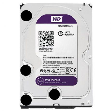 005272 WD AV 3.5 purple 2TB SATA harde schijf